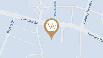 Google Map View of The Van Winkle Law Firm in Charlotte, NC