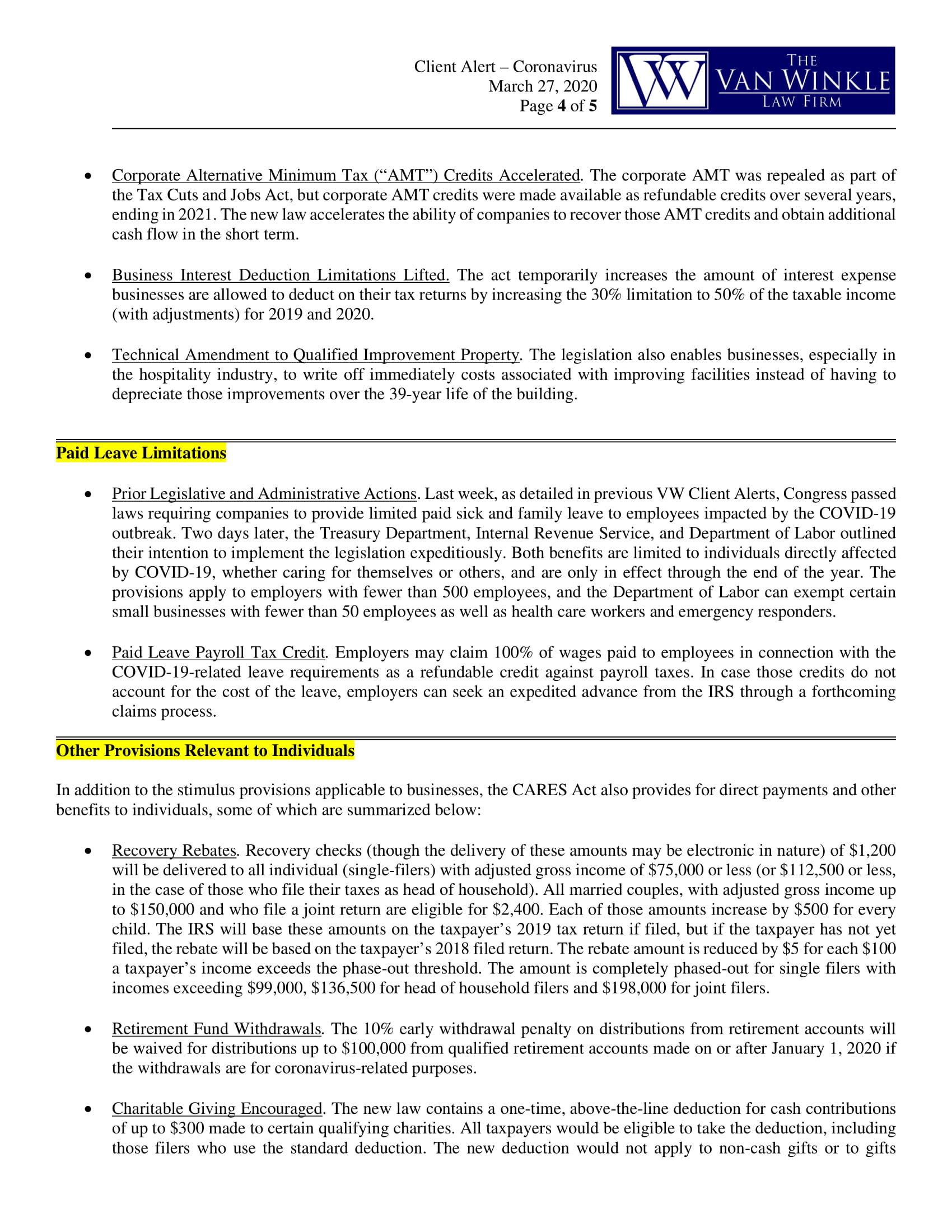 Phase 3 Coronavirus Relief Page 4
