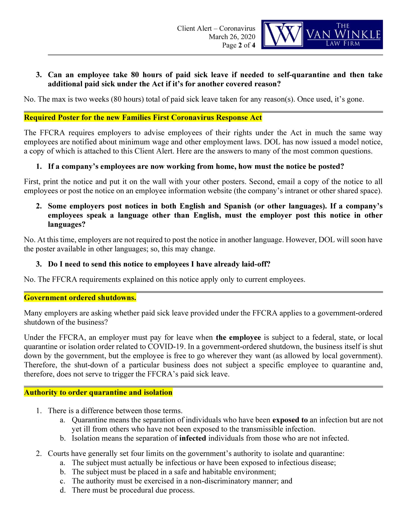 FFCRA Supplemental Guidance Page 2