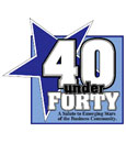 Attorneys Ryan W. Coffield and Elizabeth C. Franks Honorees of '40 Under Forty' Class of 2014